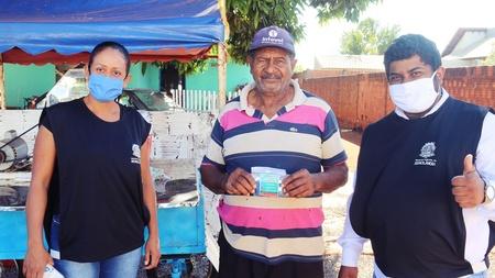 Prefeitura inicia entrega de máscaras à população