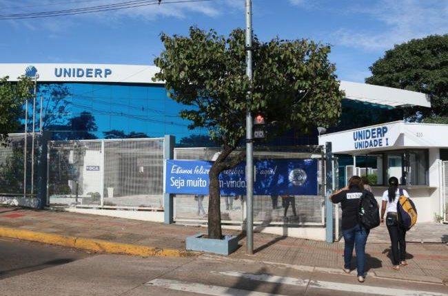 Sede da Uniderp em Campo Grande (Foto: Arquivo/Midiamax)